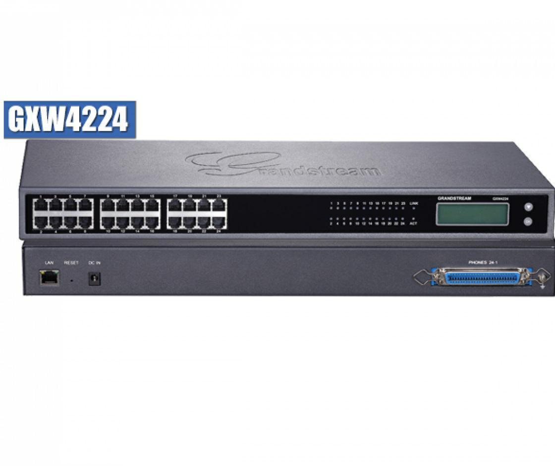 SICE Distributore Ufficiale  GRANDSTREAM GATEWAY Grandstream GXW-4224 Analog Gateway 24xFXS Ports | GXW-4224