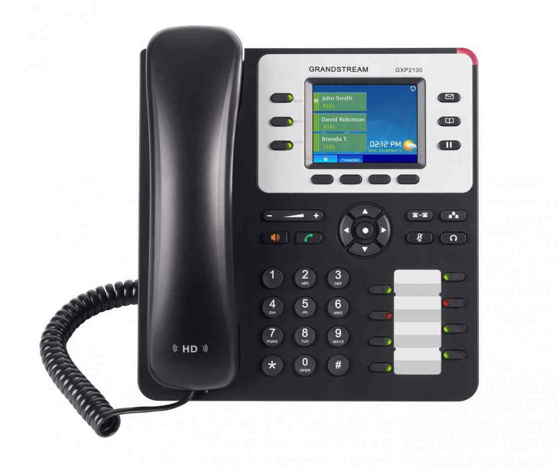 SICE Distributore Ufficiale  GRANDSTREAM IP Voice Telephony Grandstream GXP2130 IP Phone Business   GXP-2130
