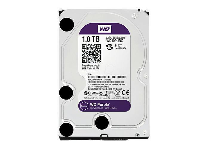 SICE Distributore Ufficiale  ACCESSORI HIKVISION Hard Disk SATA Western Digital 1T bite   WD10PURX-1T