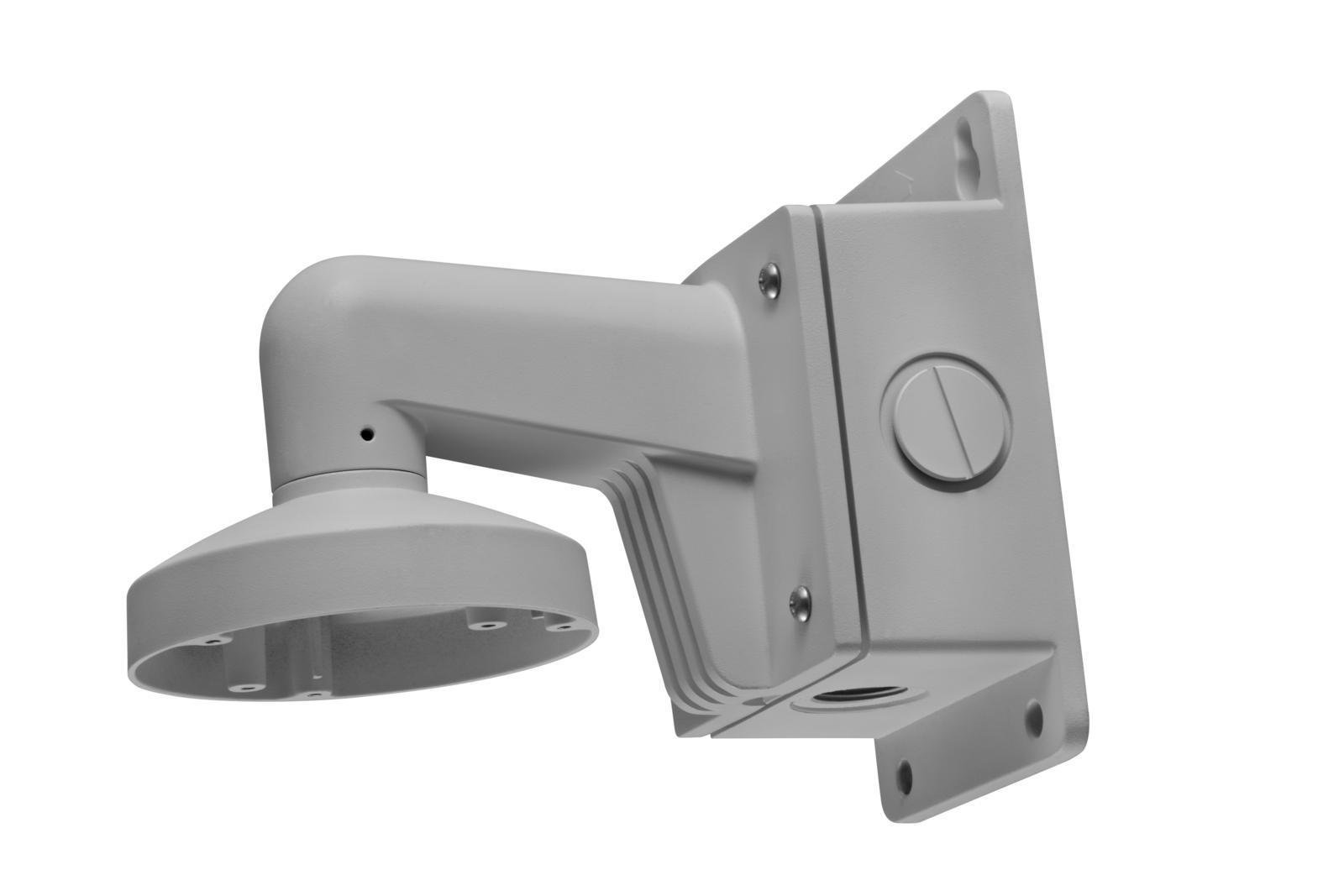 SICE Distributore Ufficiale  ACCESSORI HIKVISION Staffa da parete con boxposteriore in alluminio colore bianco | DS-1272ZJ-110B
