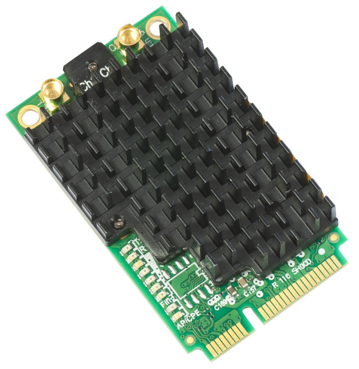 SICE Distributore Ufficiale  Interfaces MikroTik 802.11a/c High Power miniPCI-e card with MMCX connectors | R11E-5HACD