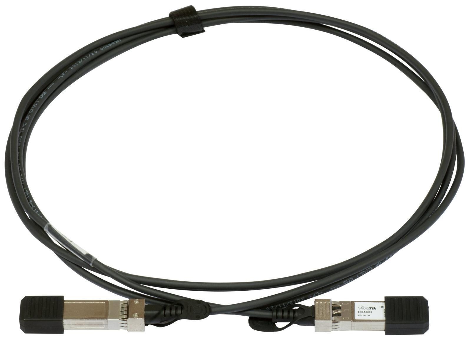 SICE Distributore Ufficiale  Interfaces MikroTik SFP+ direct attach cable, 1m | S+DA0001