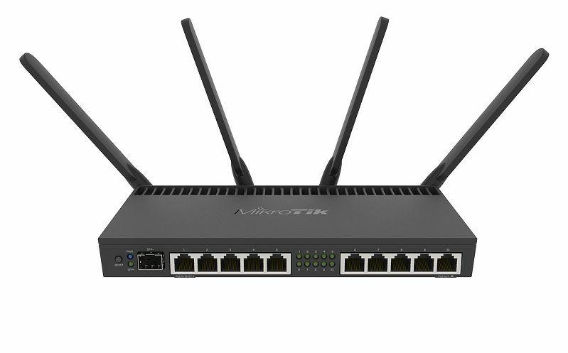 SICE Distributore Ufficiale  Wireless for home and office RB4011iGS+5HacQ2HnD-IN 4x 1.4GHz 10GETH 4x4mimo 802.11a/b/g/ac | RB4011IGS+5HACQ2
