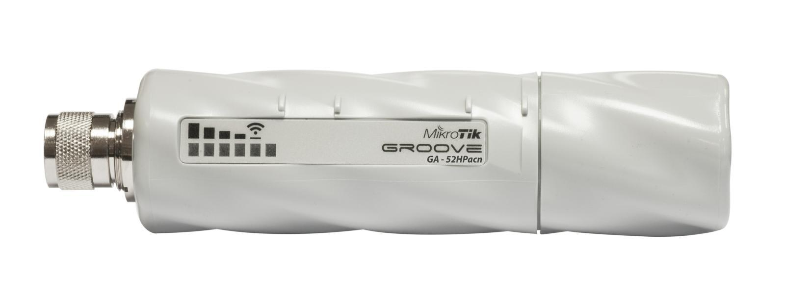 SICE Distributore Ufficiale  Wireless systems GrooveA 52 AC N-male 720MHz CPU 64MB RAM 1Glan 802.11a/b/g/n L4 | RBGROOVEGA52HPAC
