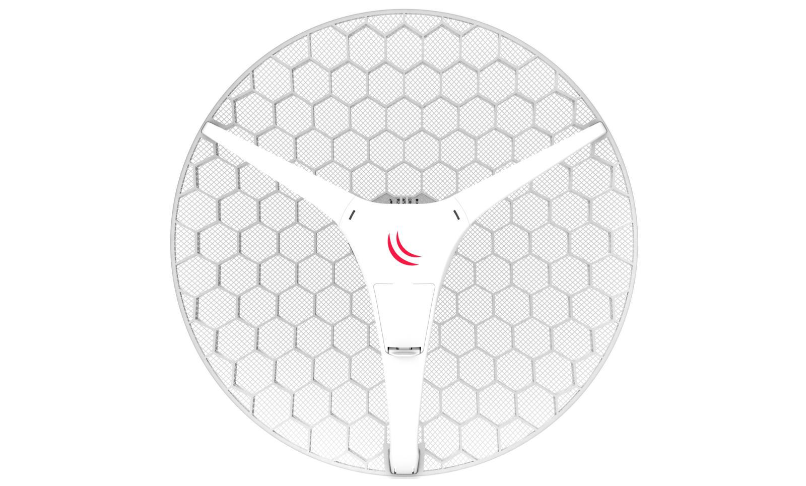 SICE Distributore Ufficiale  Wireless systems RBLHG-5HPnD-XL with 27dBi 5GHz antenna, Dual Chain High Power | RBLHG XL HP5