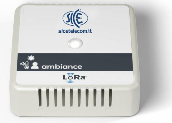 SICE Distributore Ufficiale  SENSORI LoRaWAN Sensore LoRaWan 4 in 1 Temperatura Luminosità umidità presenza | ATRS0016