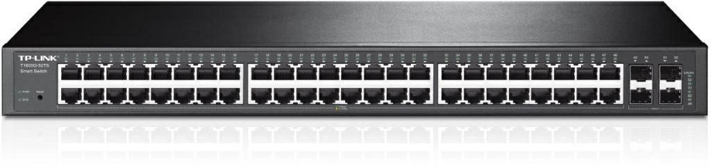 SICE Distributore Ufficiale  TP-LINK SWITCH E ROUTER 48-Port Gigabti Smart Switch with 4 SFP Slots | T1600G-52TS