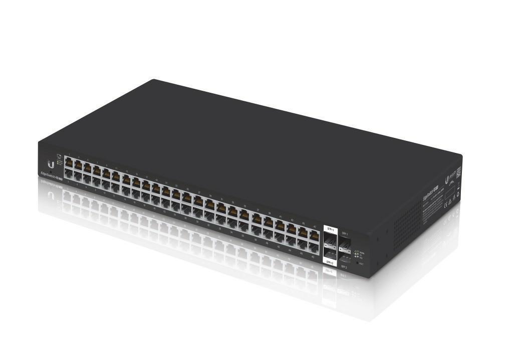 SICE Distributore Ufficiale  EdgeMAX EdgeSwitch, 48-port, Lite, Non-POE | ES-48-LITE