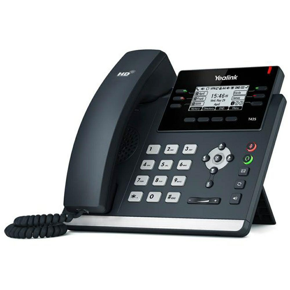 SICE Distributore Ufficiale  Yealink Skype for Business Phones Yealink Ultra-elegant IP | AH00VPS0T42S