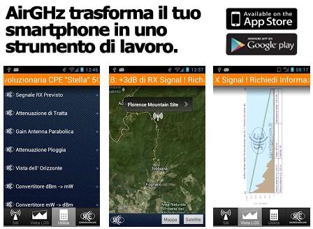 SICE ha realizzato AirGHz: il rivoluzionario App Gratuito