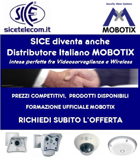 SICE diventa anche Distributore Italiano Mobotix