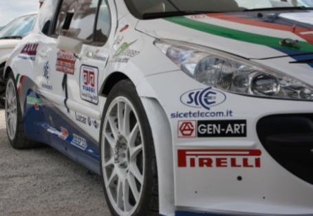 SICE: sponsor del 6 volte Campione Italiano Rally Paolo Andreucci