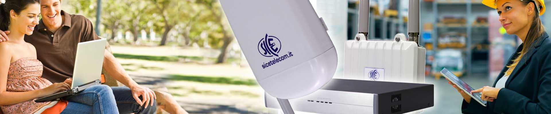 Hotspot Wi-Fi 2.4 / 5 GHz e SMS Station Headline