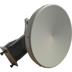24GHz Dish Antenna 60cm 42dBiAntenna in banda 24GHz per sistemi punto-punto