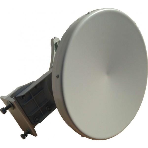 17GHz Dish Antenna 30cm 33dBiAntenna in banda 17GHz per sistemi punto-punto