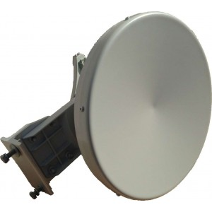 17GHz Dish Antenna 90cm 42dBiAntenna in banda 17GHz per sistemi punto-punto