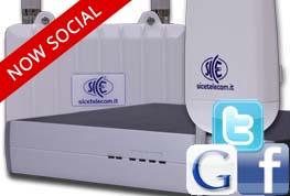 SMS Station SICE: autenticazione tramite Social Network negli Hotspot WiFi