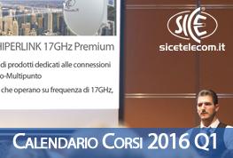 Calendario Corsi 2016 (Q1) News & Eventi