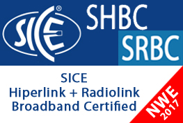 "Corso ""SICE Hiperlink Broadband Certified (SHBC)"" e ""SICE Radiolink Backhaul Certified (SRBC)"" 22-23 Maggio 2017 c/o NWE"