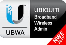 Corso Italiano Ubiquiti Broadband Wireless Admin UBWA V2 24-25 Maggio 2017 c/o NWE Corsi Corsi Ubiquiti