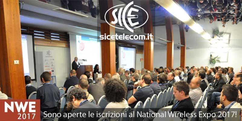SICE partecipa alla fiera National Wireless Expo 2017 il 23-24 maggio 2017 Blog News & Eventi  17ghz 24ghz 26ghz 5ghz 802.11ac cambiumnetworks expo fiera hotspot iot lorawan mikrotik nwe ubiquiti wifi wireless