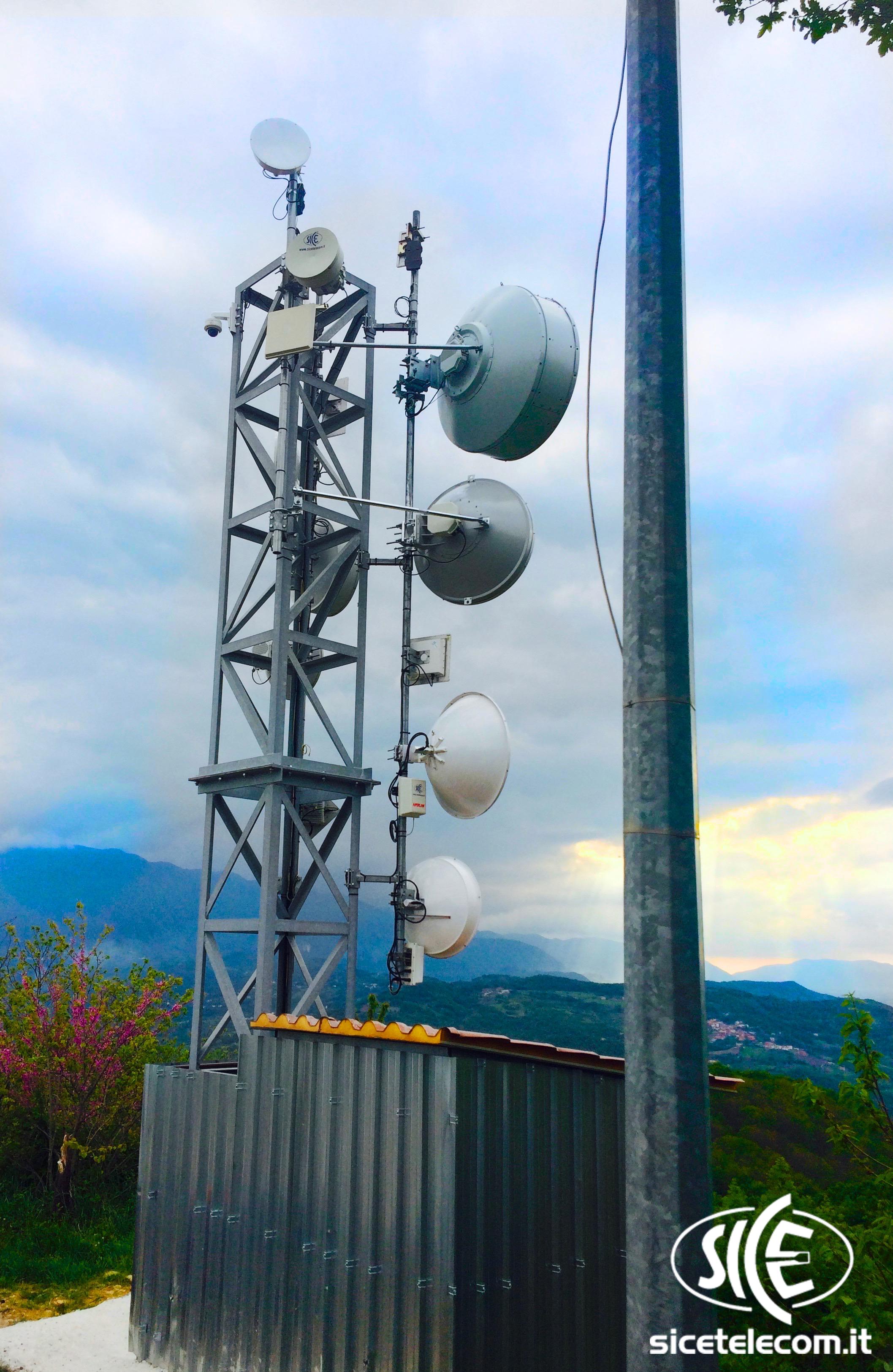 MULTINAZIONALE SAPA | Case studies Case Studies  consulsat consulservice ponti radio rete dati sice wifi wireless