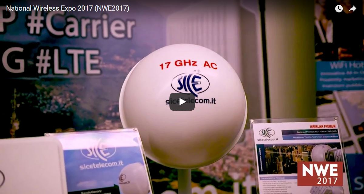 NATIONAL WIRELESS EXPO 2017. GRAZIE A TUTTI PER AVER PARTECIPATO AL PIÙ IMPORTANTE EVENTO ITALIANO DEDICATO AL WIRELESS ED ALLA BANDA LARGA. Blog News & Eventi