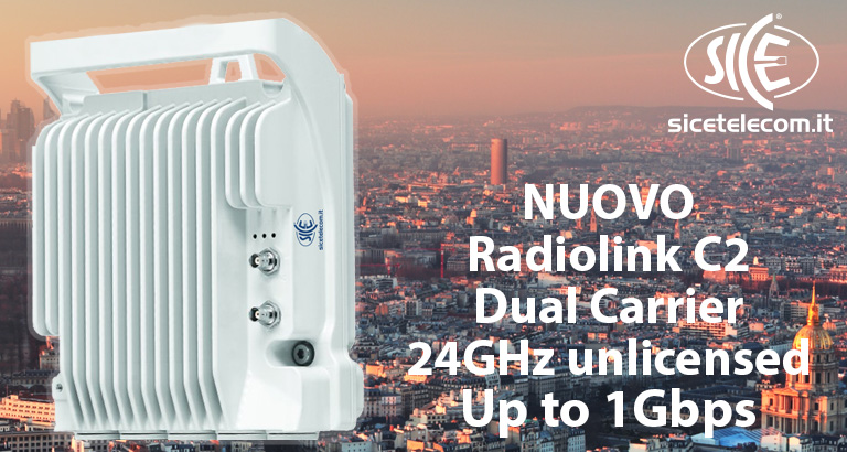 Nuovo Ponte Radio Wireless 24GHz unlicensed Dual Core XPIC up to 1Gbps Blog News & Eventi  24ghz ponti radio punto punto