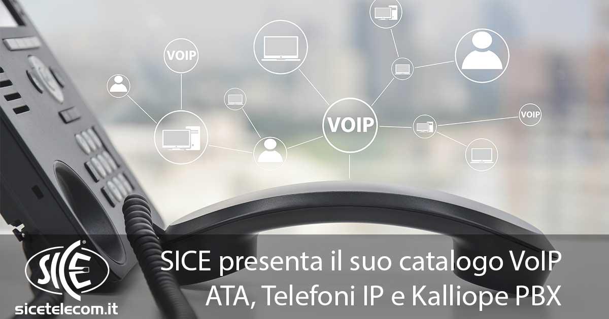 SICE Tutto per il VoIP: ATA, Telefoni IP e Kalliope PBX Blog News & Eventi  audiocodes cisco grandstream kalliopepbx patton VoIP yealink