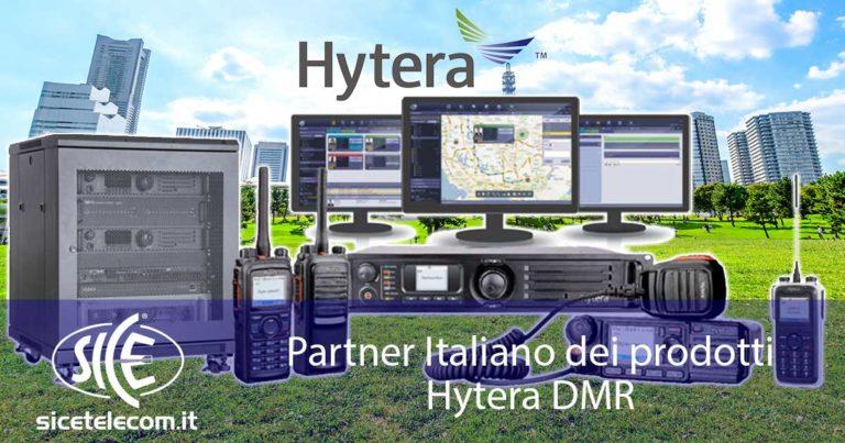 SICE Partner Ufficiale Hytera per la linea di prodotti DMR