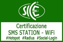 24-25 Ottobre 2019: Corso SICE Certificazione SMS STATION - WiFi presso NWE 2019