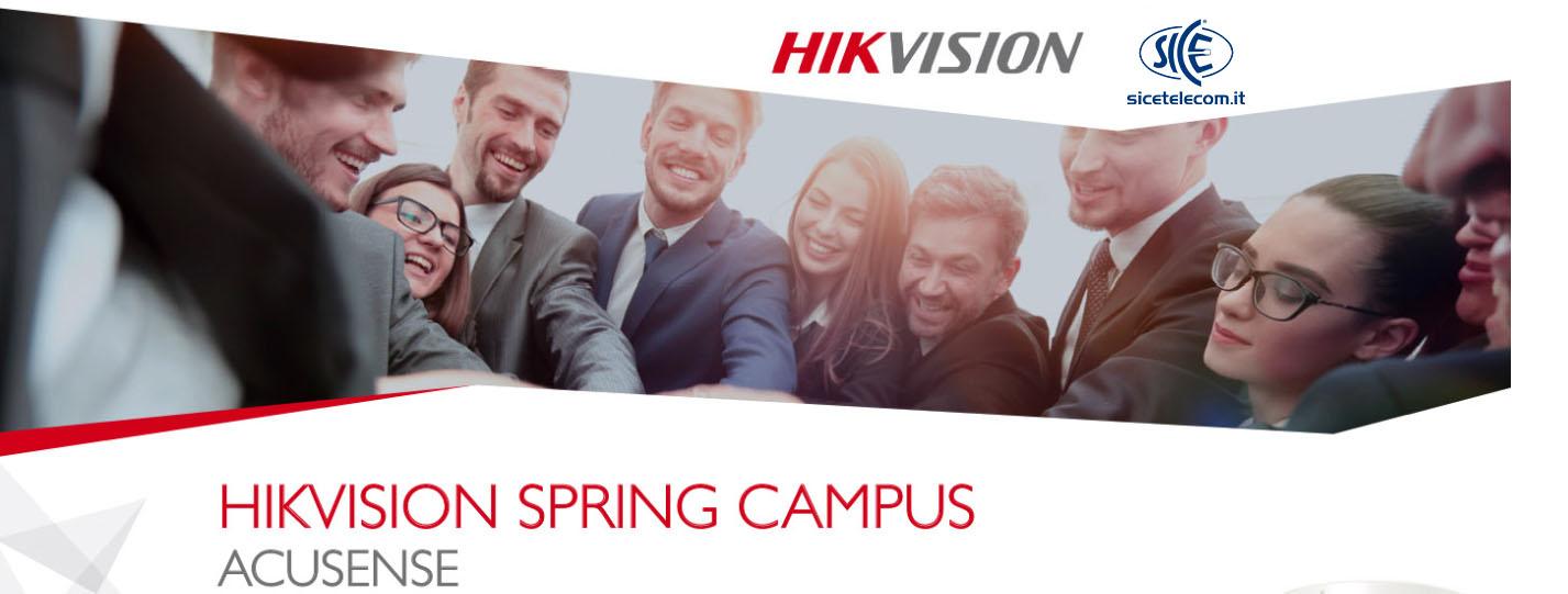 sice hikvision spring campus 2019 acusense