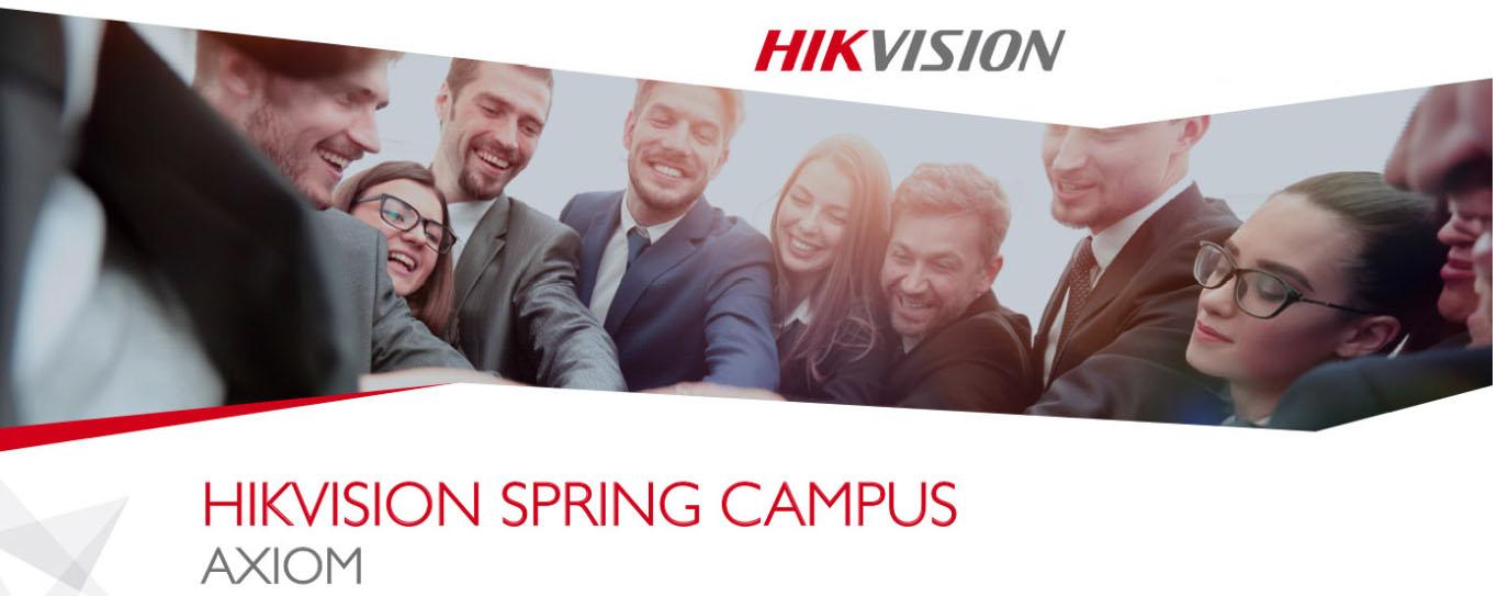 sice hikvision spring campus 2019 axiom