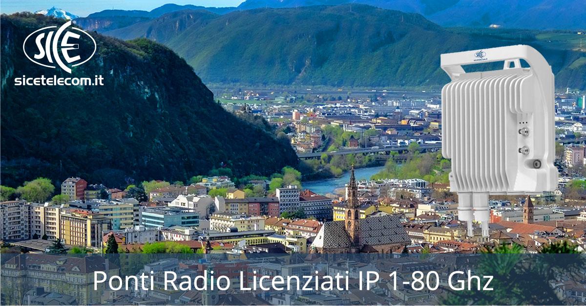SICE ponti radio licenziati 1-80ghz
