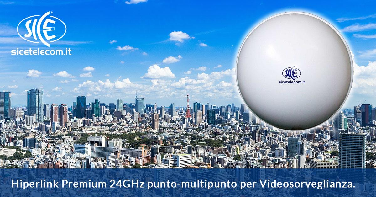 Hiperlink Premium 24GHz punto-multipunto SICE