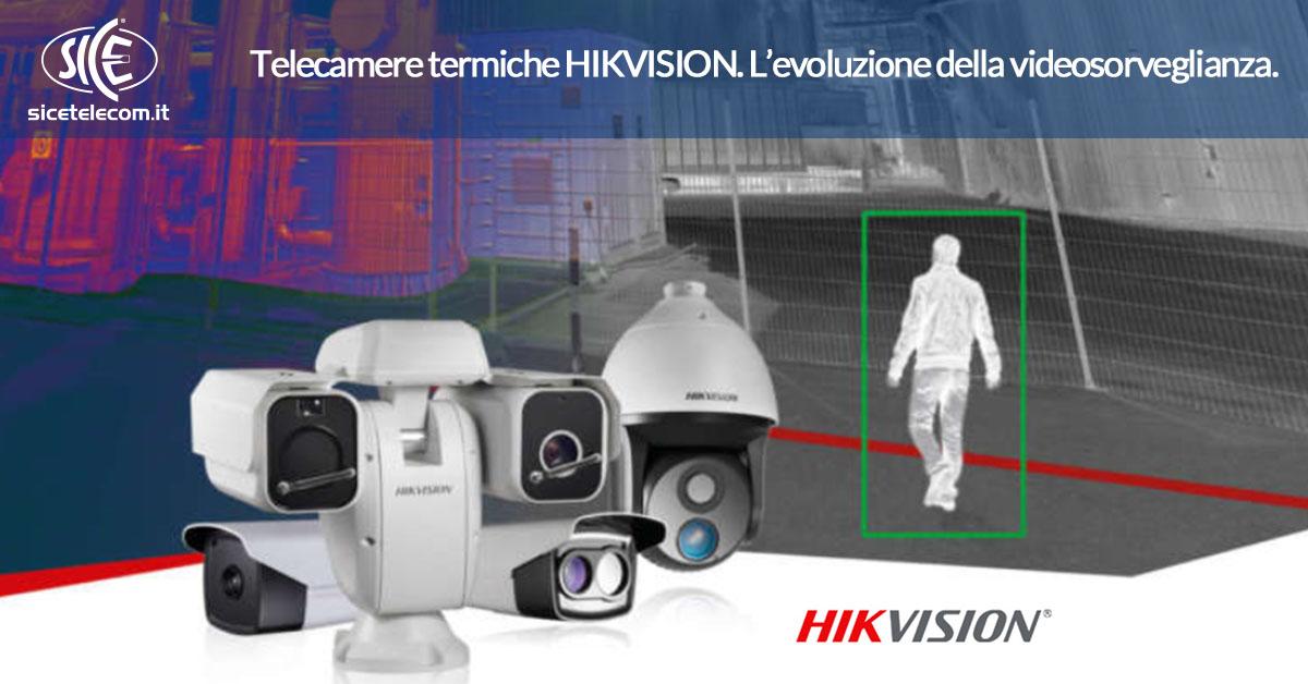 telecamere termiche hikvision