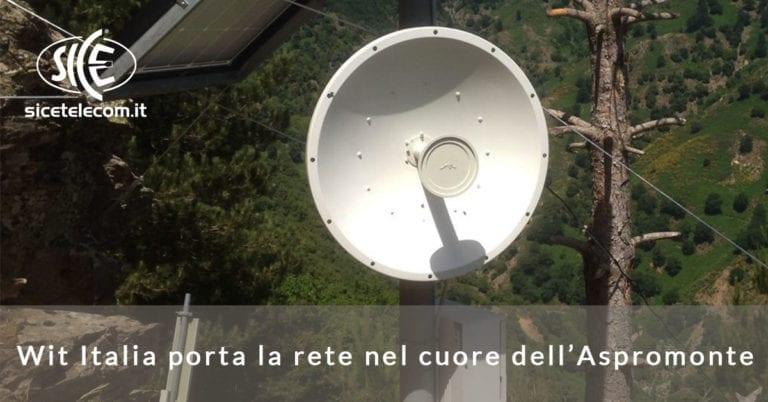 Wit Italia porta la rete nel cuore dell'Aspromonte | Case Study