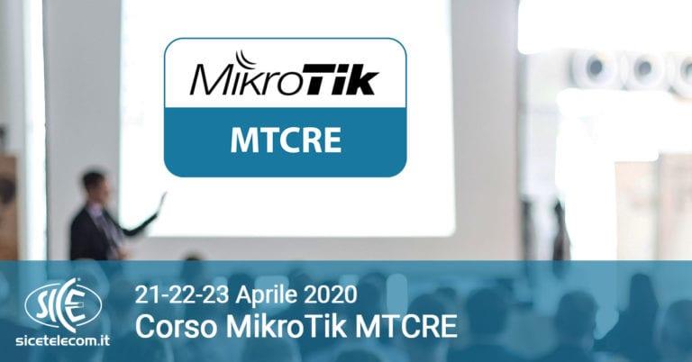 SICE CORSO MTCRE aprile 2020