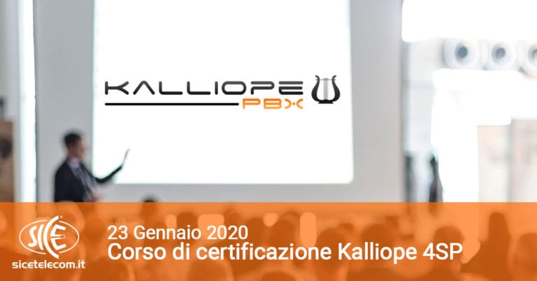 corsi VoIP Kalliope SICE 4sp