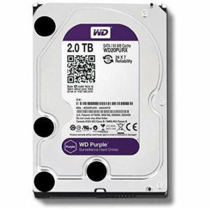 Hard Disk SATA Western Digital 2T bite | WD20PURX-2T