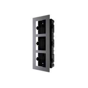 Intercom Cornice ad incasso 3 moduli | DS-KD-ACF3