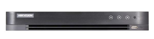 DVR Hybrid 4ch TVI + 2 IP 5Mpx H.265+/H.264+ (1HDD DA 1TB) | DS-7204HUHI-K1/A