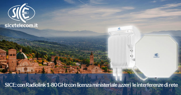radiolink 1-80GHz licenza ministeriale SICE