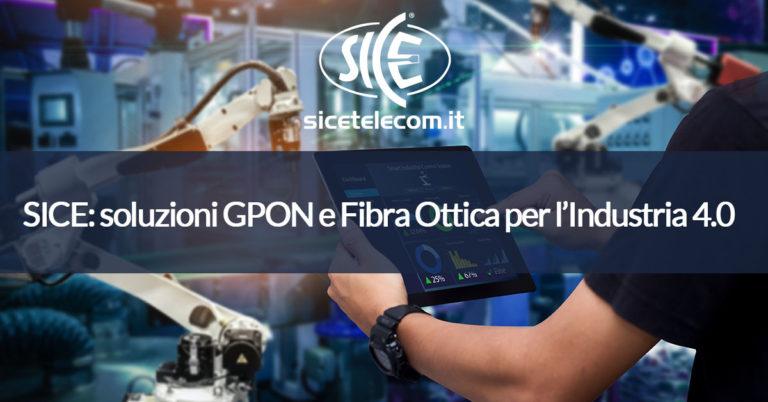 SICE GPON fibra ottica