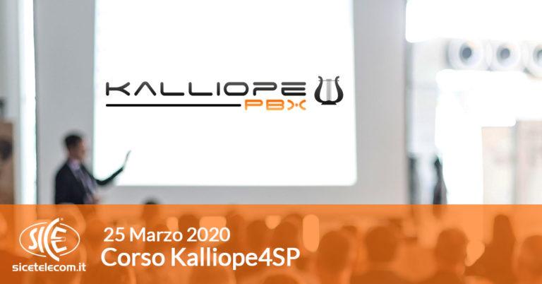 SICE corsi VoIP kalliope4SP