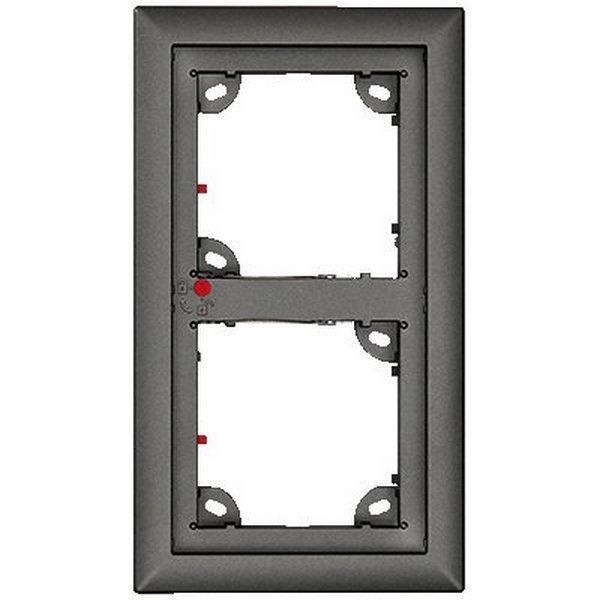 Ubiquiti OPT-FRAME2EXT-DG | Double Frame Dark Gray Compatib T25 Door Station & modules MxDis