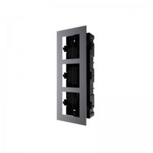 DS-KD-ACF3   Intercom Cornice ad incasso 3 moduli