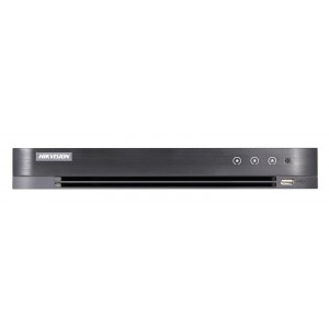 DS-7204HUHI-K1/A | DVR Hybrid 4ch TVI + 2 IP 5Mpx H.265+/H.264+ (1HDD DA 1TB)