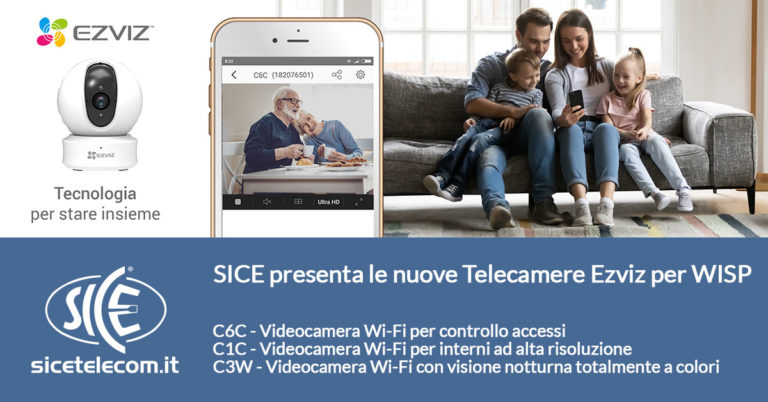 SICE distributore telecamere per WISP