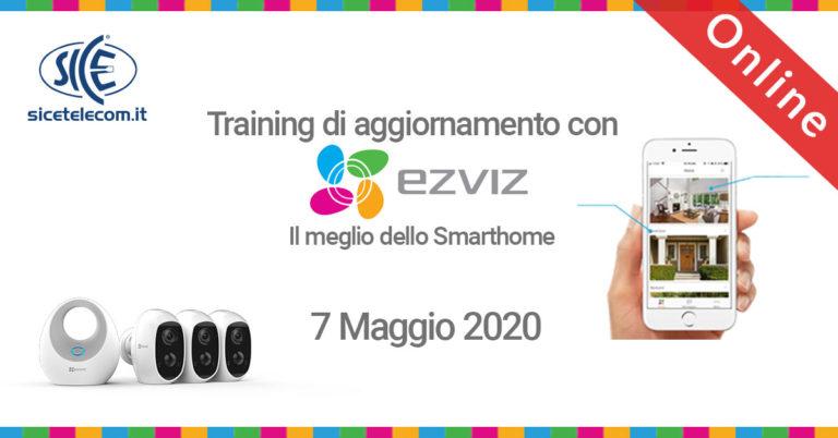 SICE webinar gratuito Ezviz 7 maggio